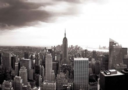 Non-woven wallpaper New York Skyline 403